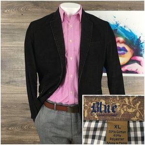 Mens Blazer Sport Coat Pronto Uomo Corduroy Jacke